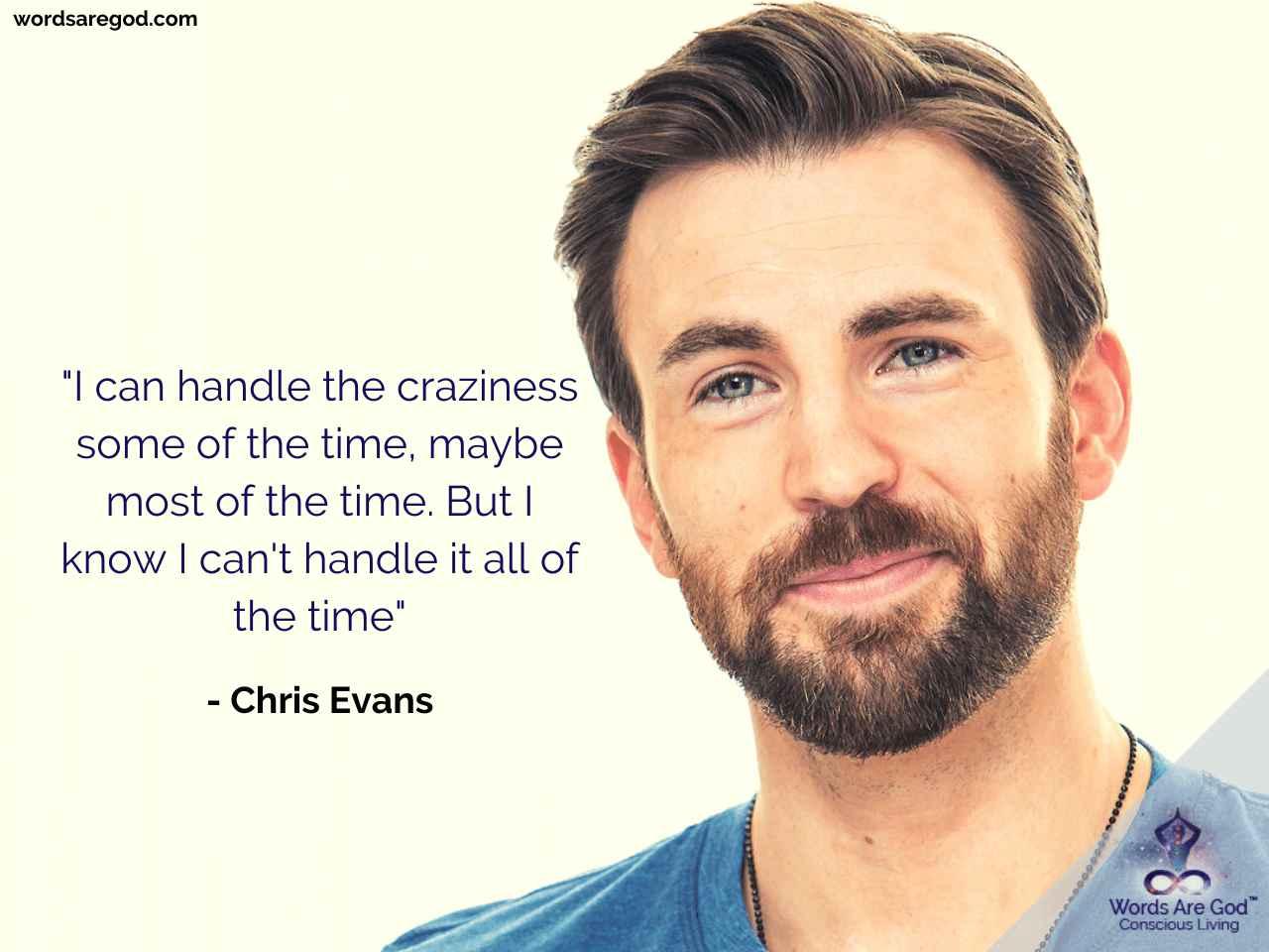 Chris Evans Motivational Quote