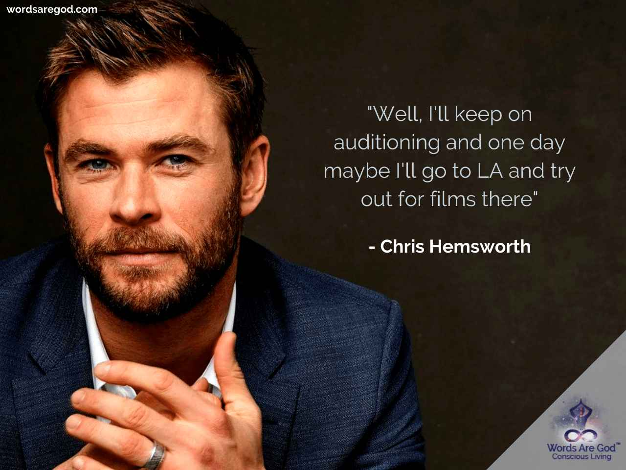 Chris Hemsworth Inspirational Quotes