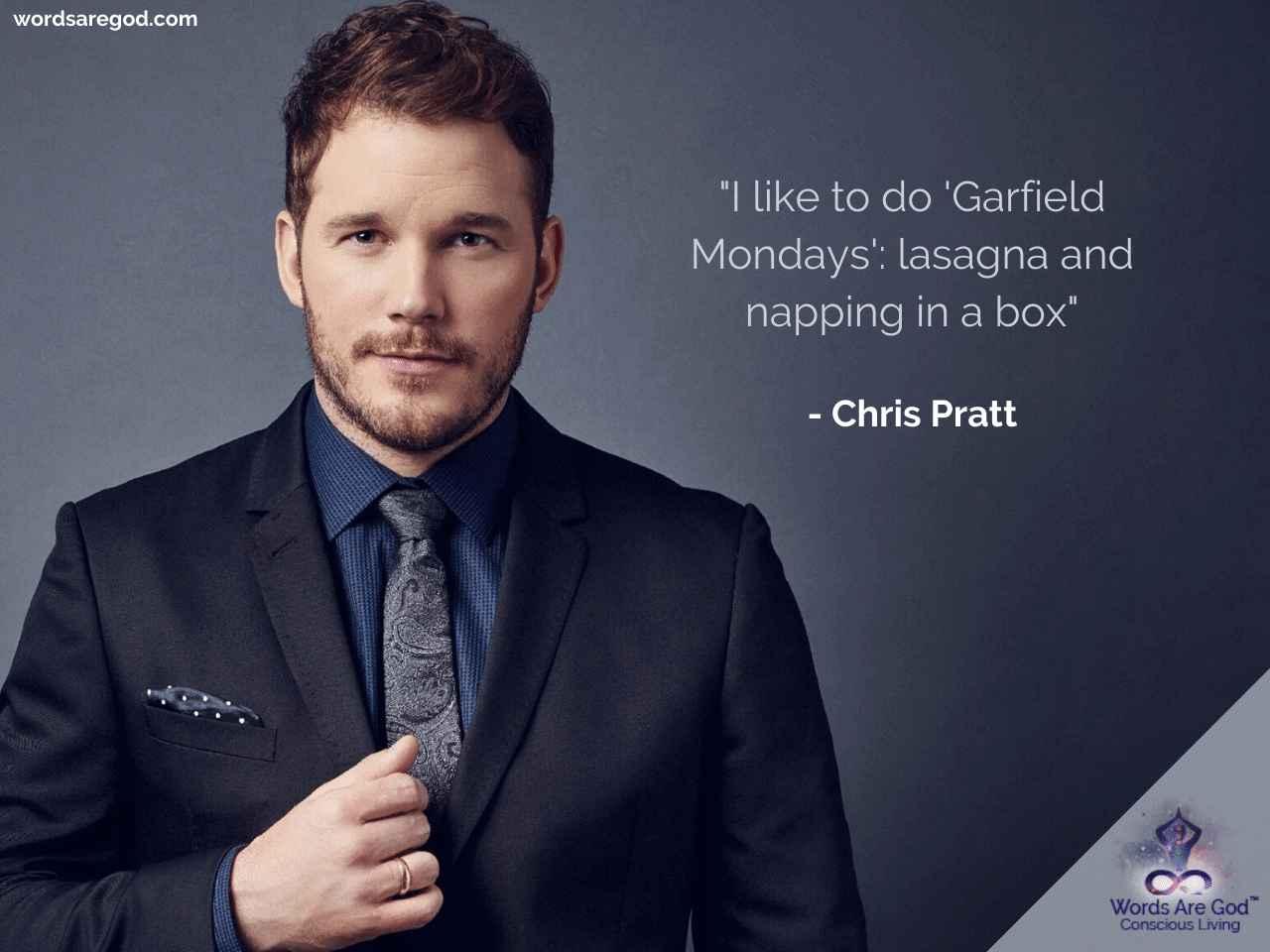 Chris Pratt Motivational Quote