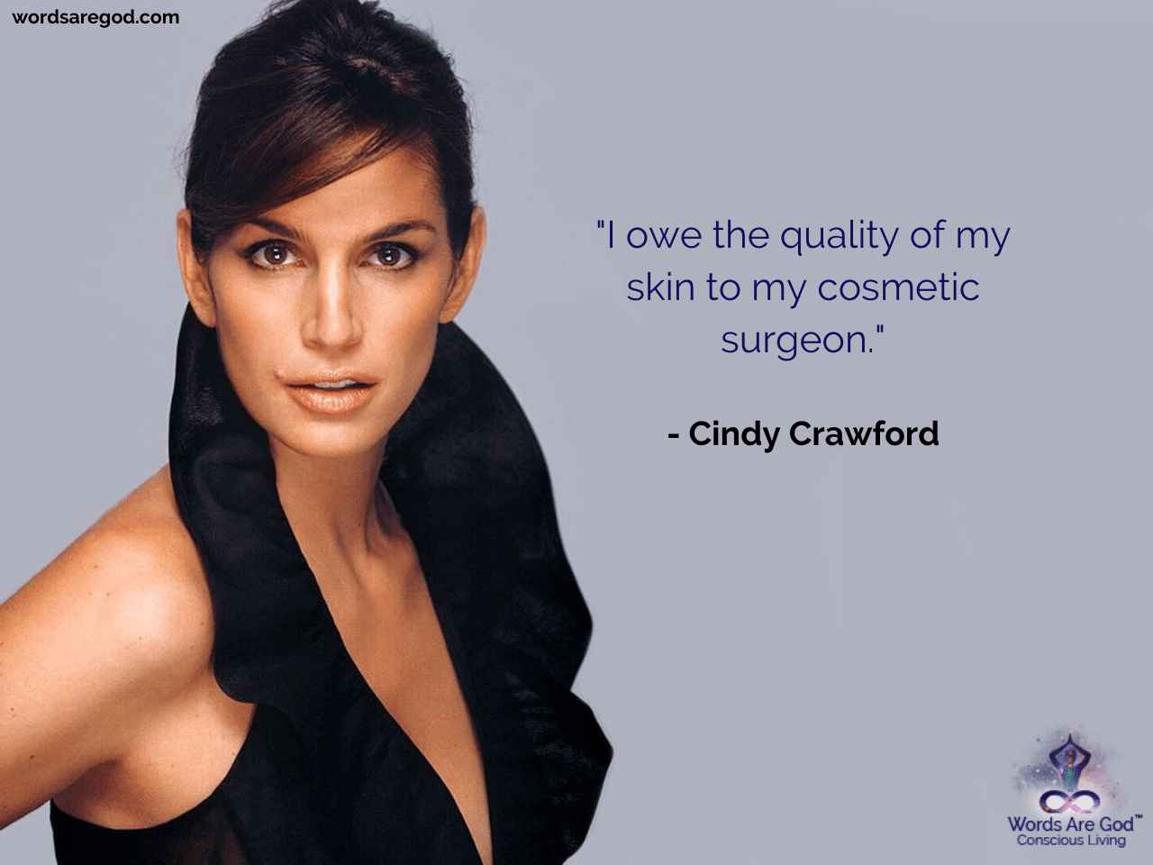 Cindy Crawford Motivational Quote