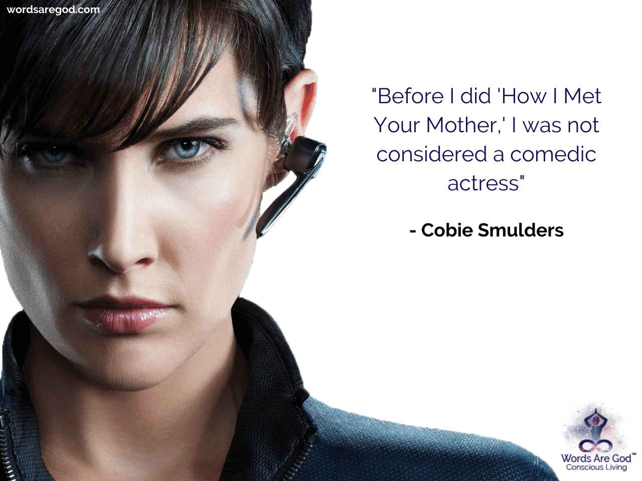 Cobie Smulders Life Quote