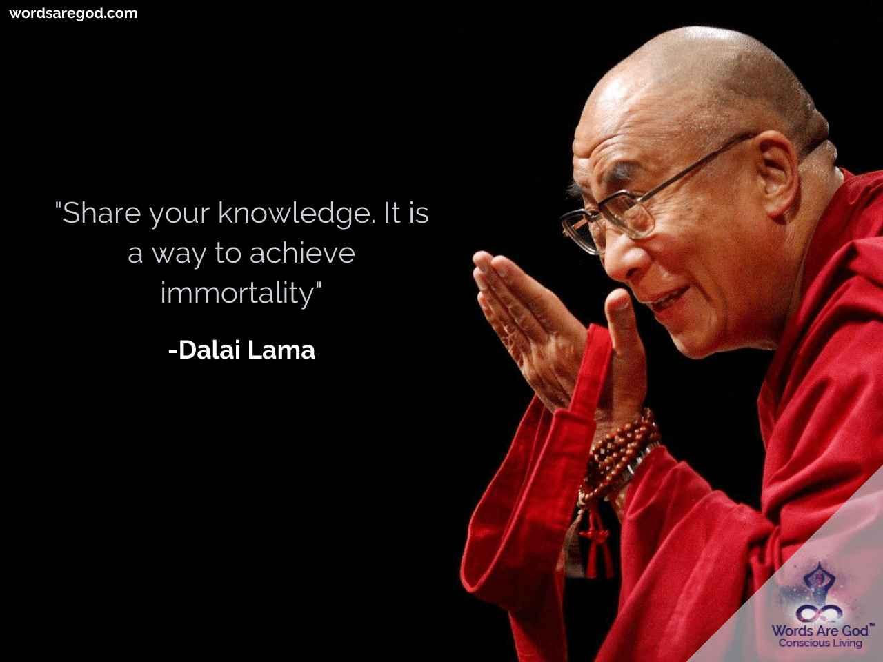 Dalai Lama Best Quote by Dalai Lama