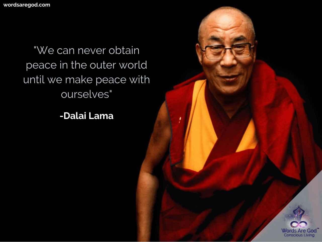 Dalai Lama Life Quote