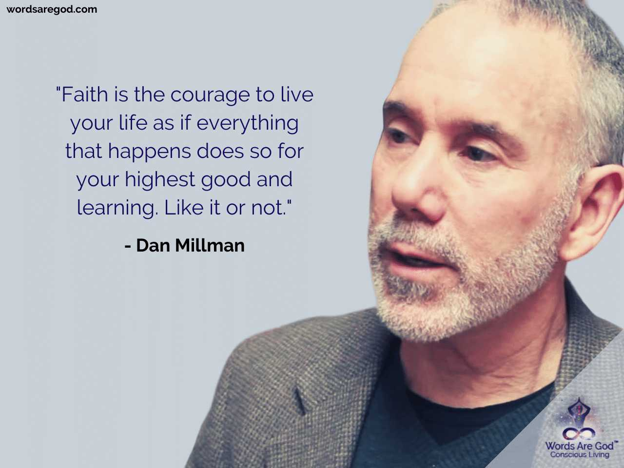 Dan Millman Motivational Quote