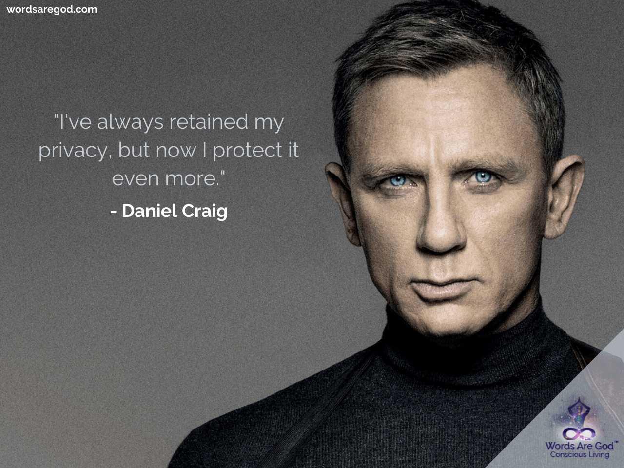 Daniel Craig Motivational Quotes