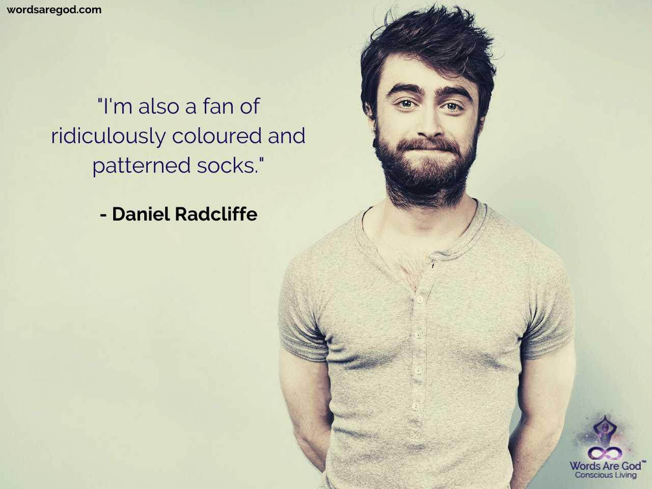 Daniel Radcliffe Best Quotes