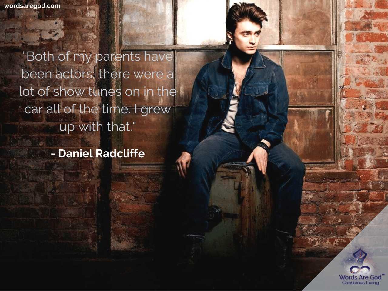 Daniel Radcliffe Life Quotes