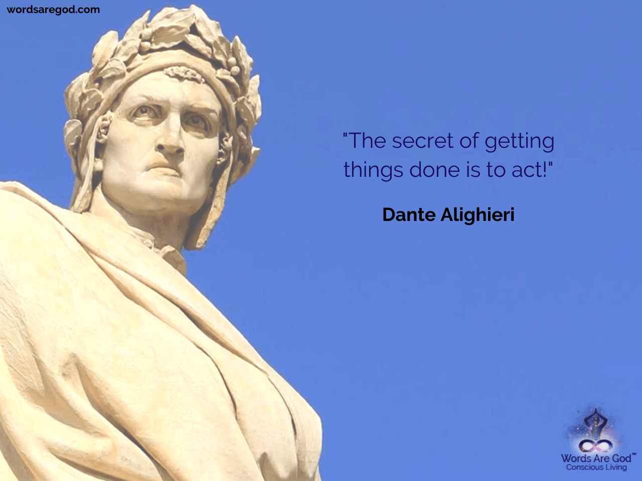 Dante Alighieri Best Quote