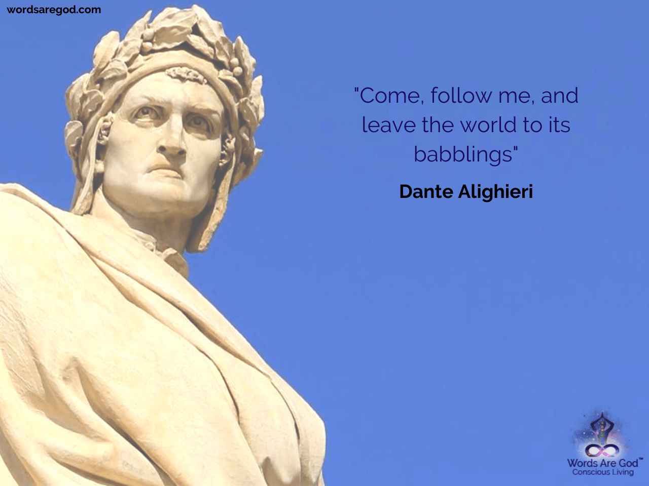 Dante Alighieri Inspirational Quote