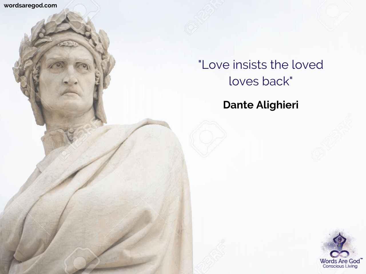 Dante Alighieri Inspirational Quote by Dante Alighieri