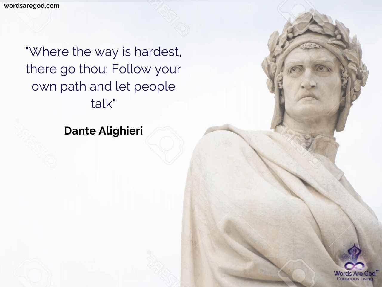 Dante Alighieri Motivational Quote
