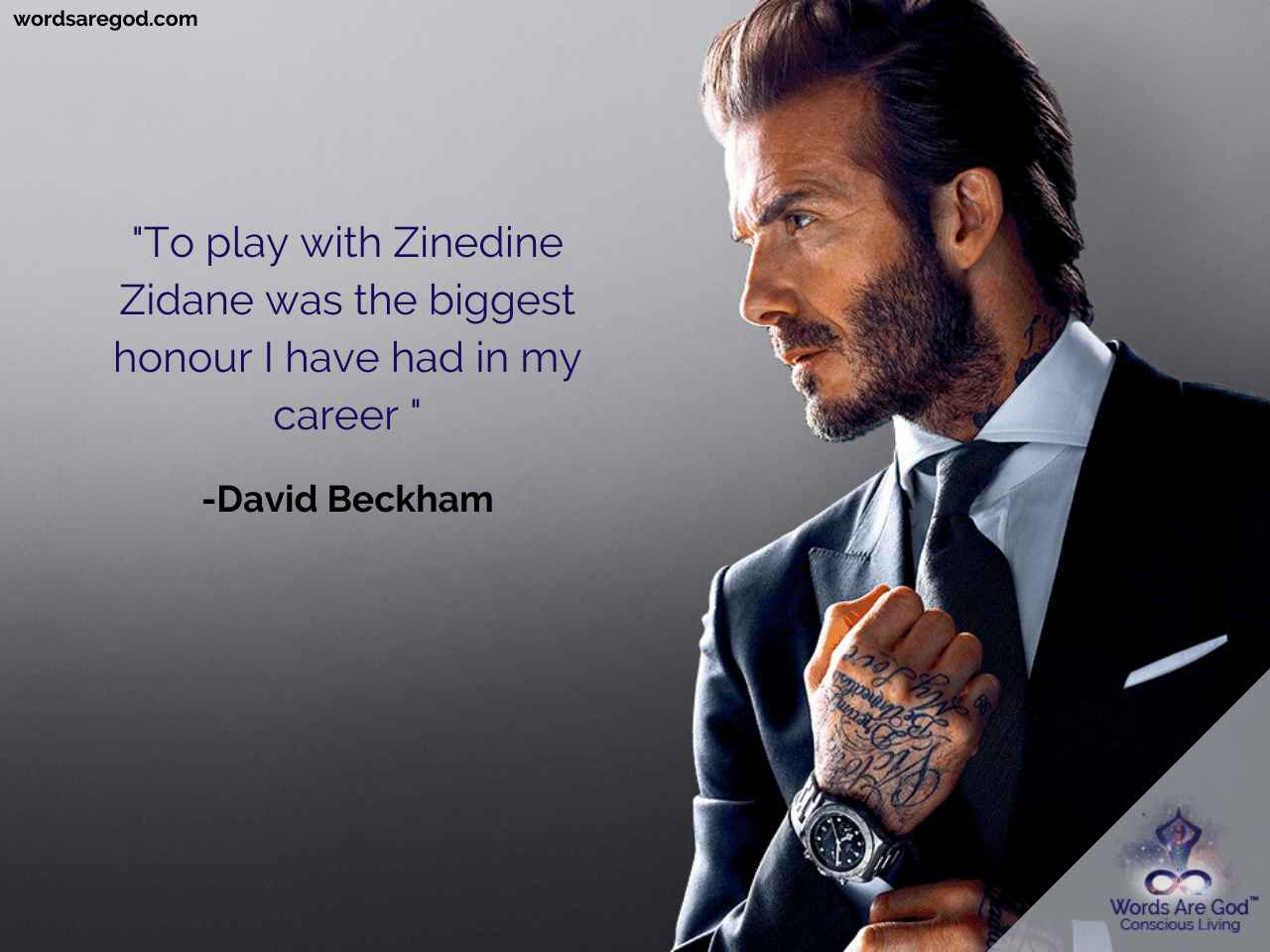 David Beckham Inspirational Quotes