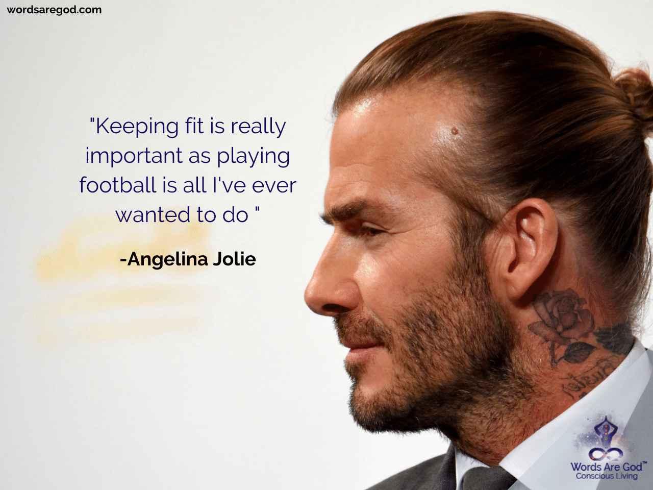 David Beckham Motivational Quotes
