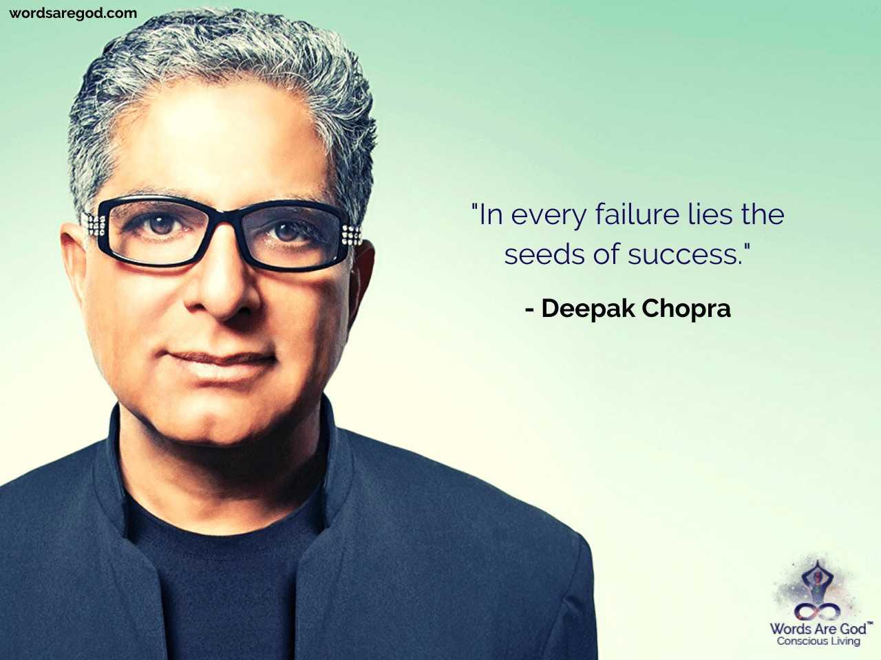 Deepak Chopra Life Quote