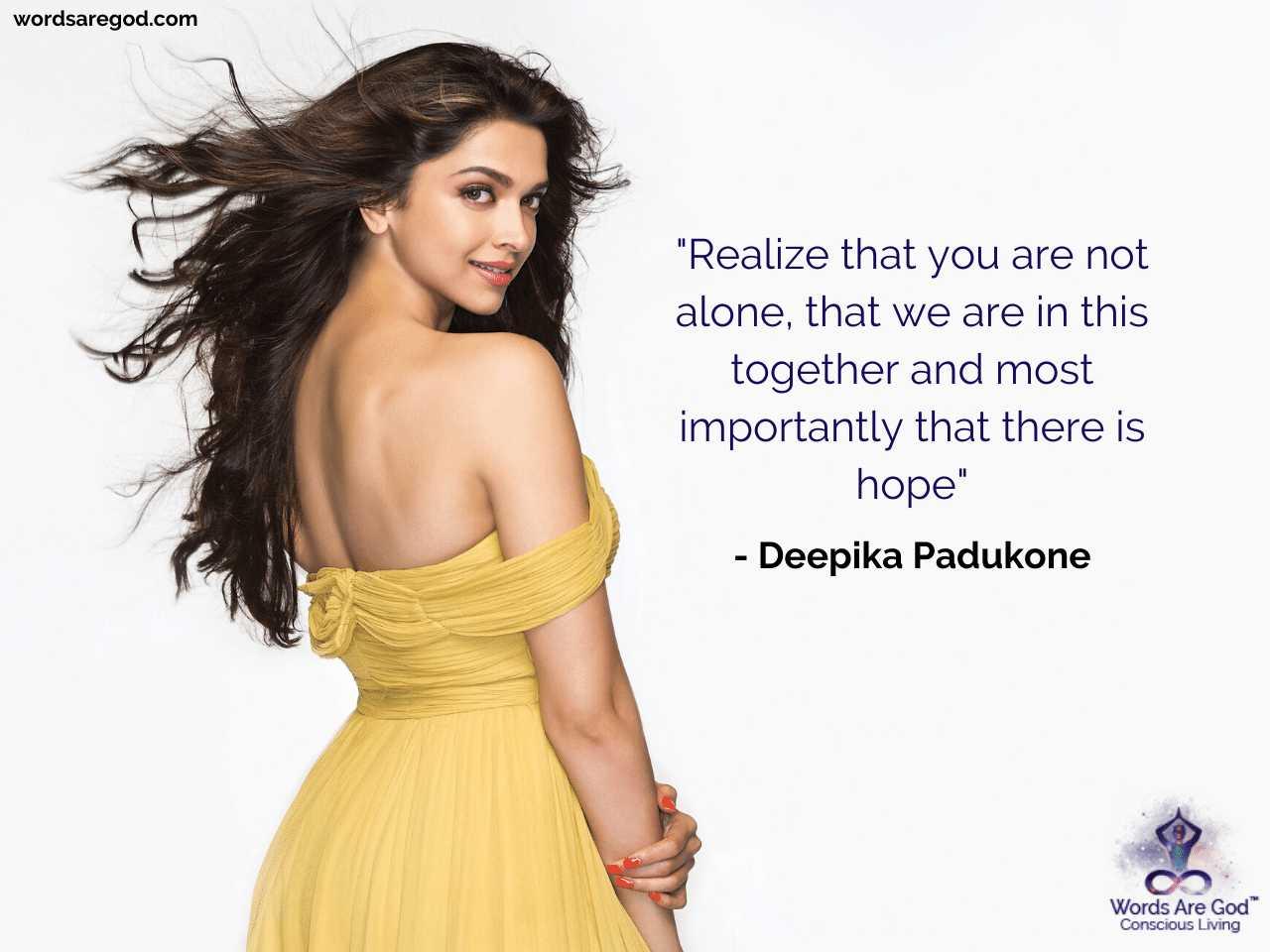 Deepika Padukone Life Quotes