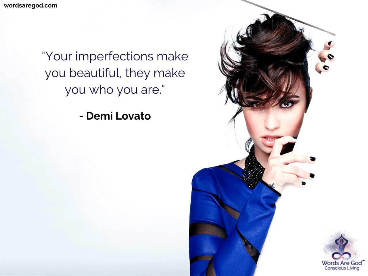 Demi Lovato Music Quotes