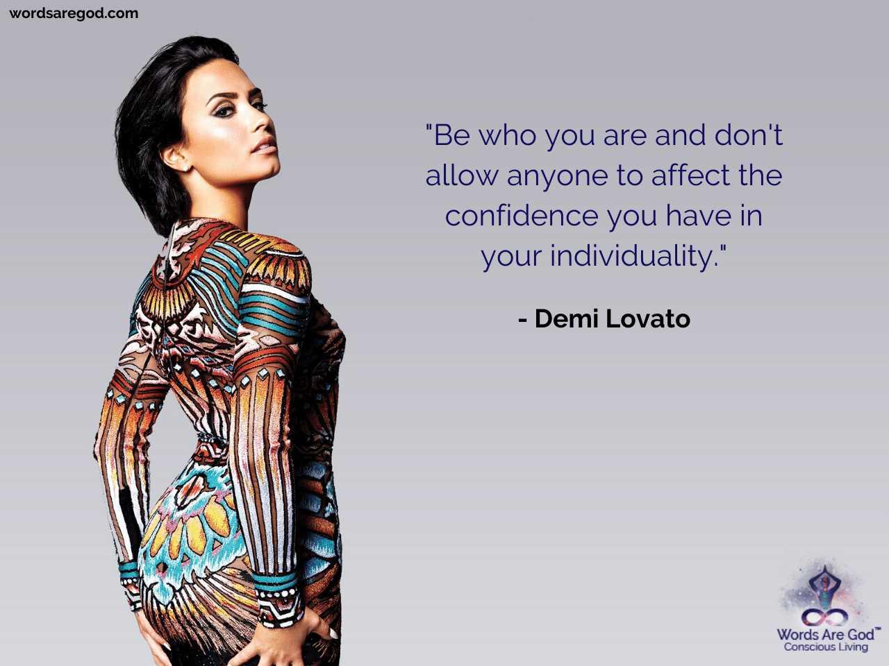 Demi Lovato Best Quotes