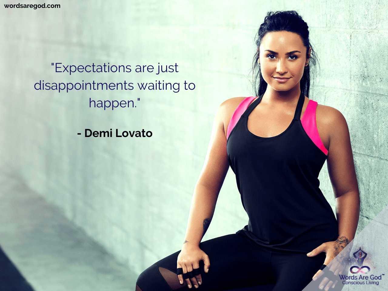 Demi Lovato Life Quotes