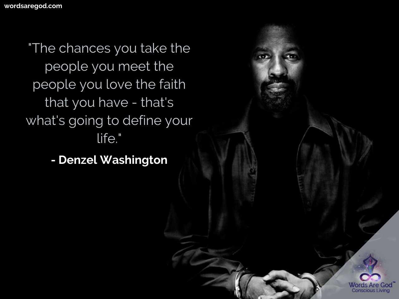 Denzel Washington Best Quotes
