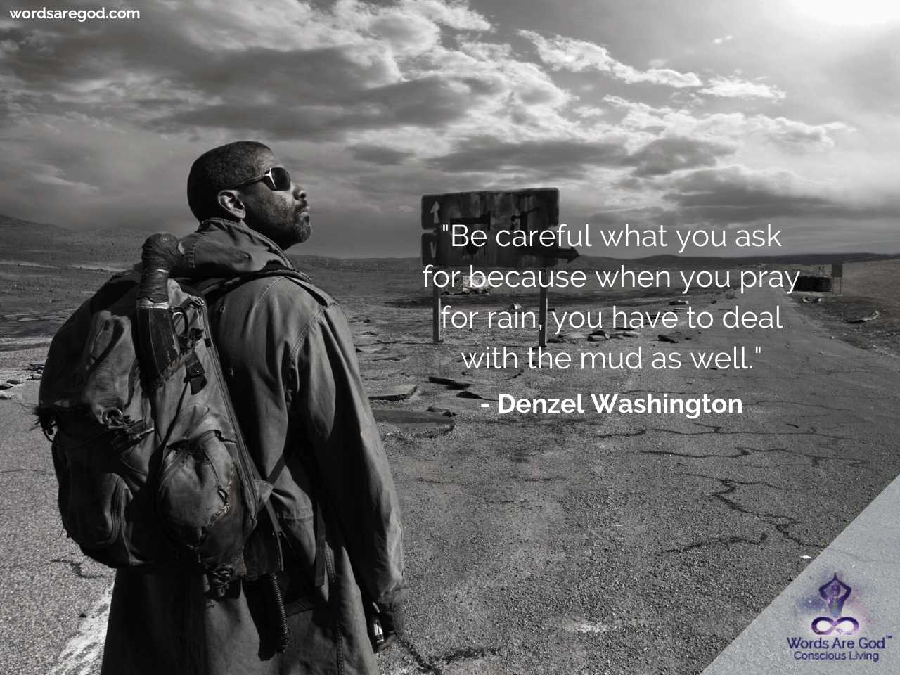 Denzel Washington Inspirational Quotes by Denzel Washington