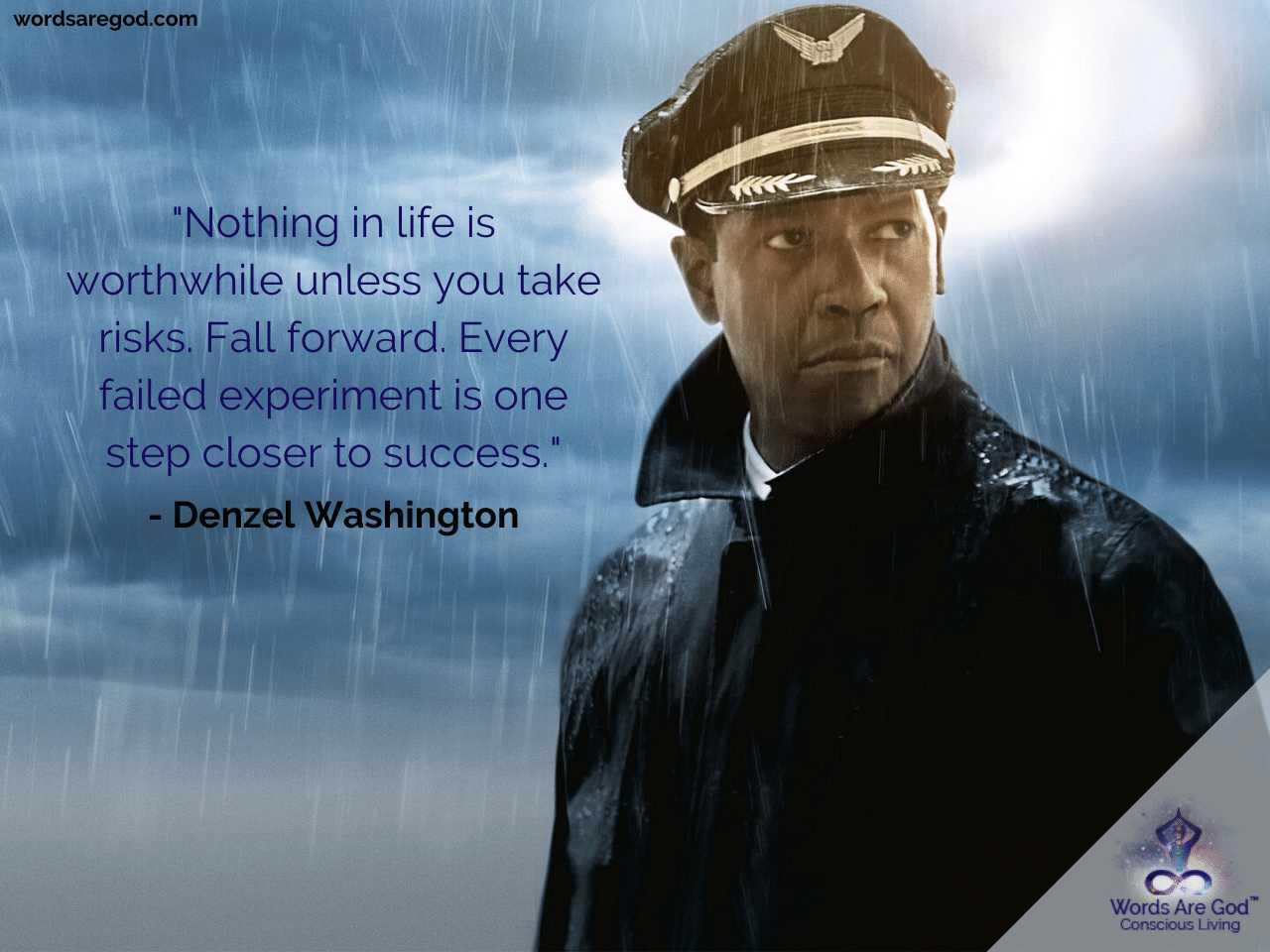 Denzel Washington Inspirational Quotes