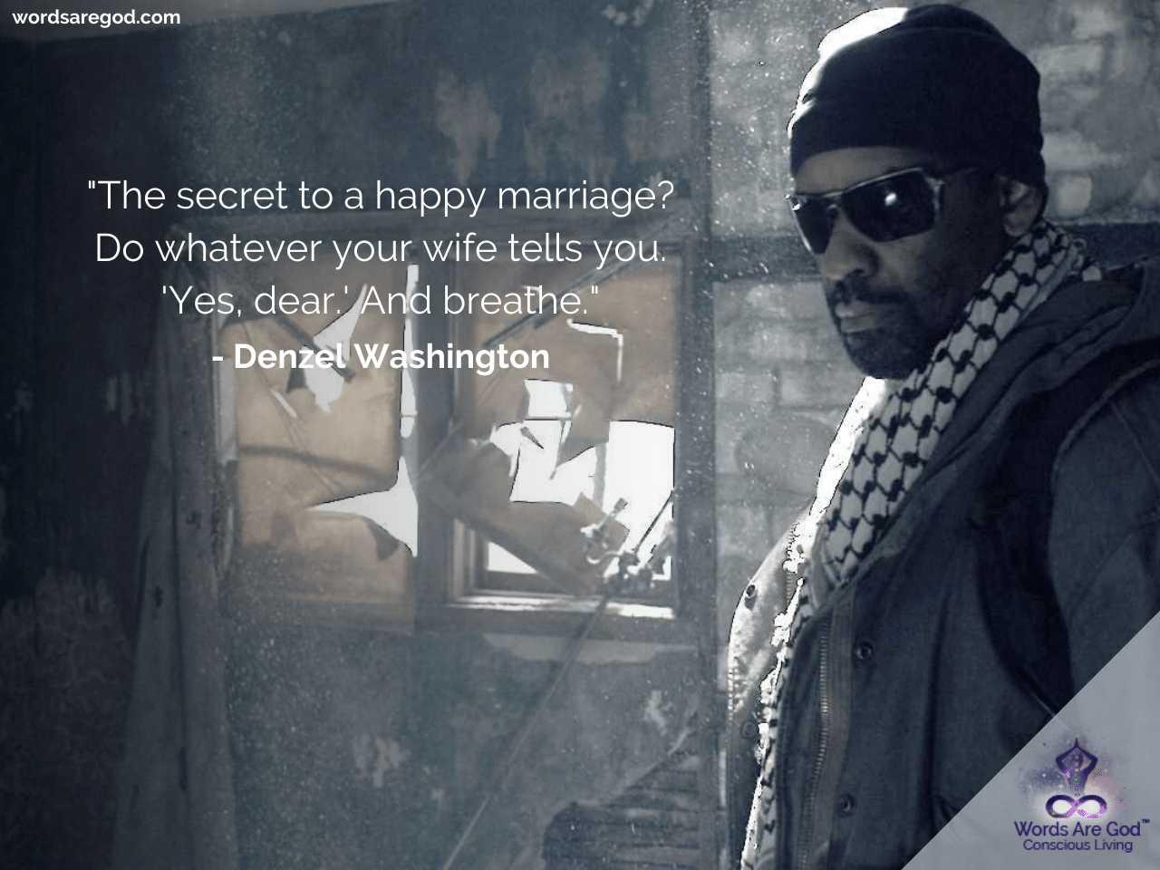 Denzel Washington Life Quotes