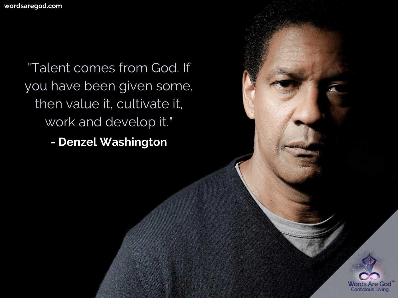 Denzel Washington Motivational Quotes