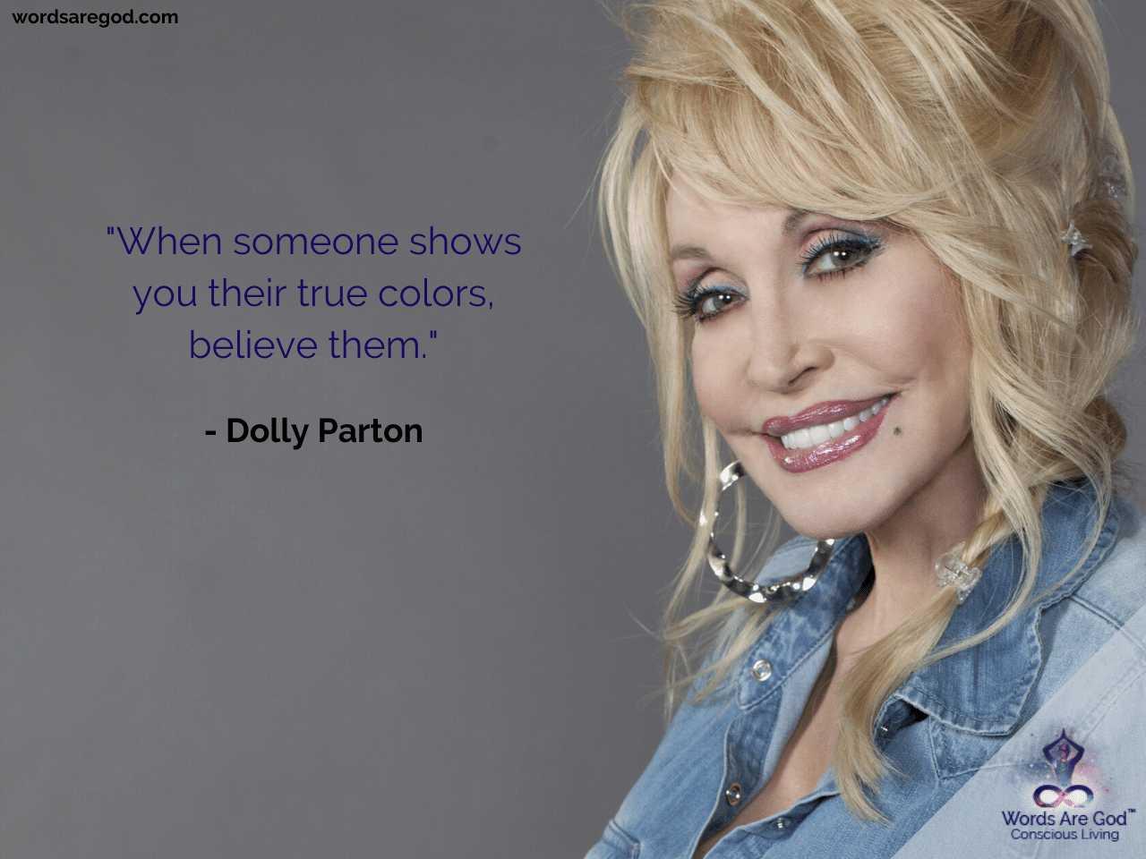 Dolly Parton Life Quotes