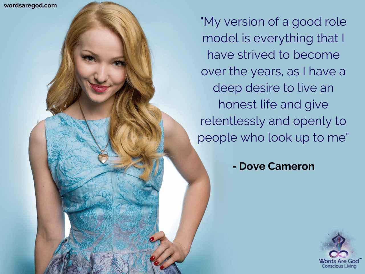 Dove Cameron Life Quote