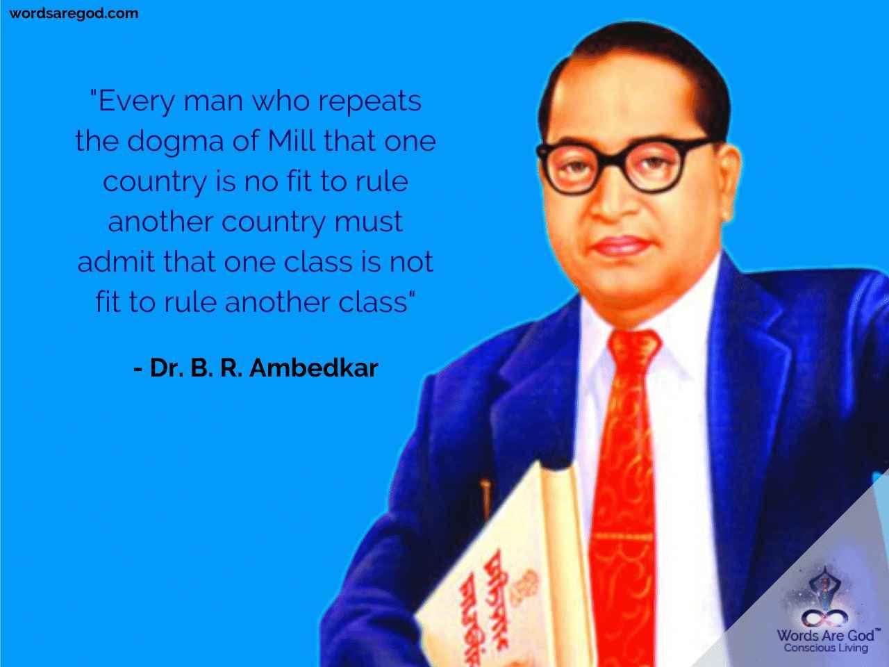Dr. B. R. Ambedkar   Inspirational Quote by Dr. B. R. Ambedkar