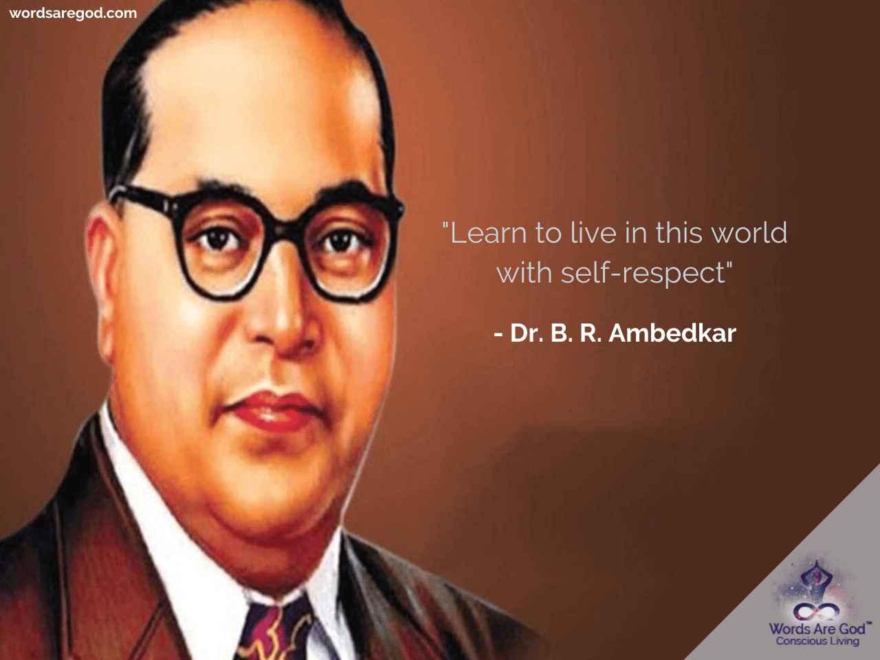 Dr. B. R. Ambedkar   Life Quote by Dr. B. R. Ambedkar