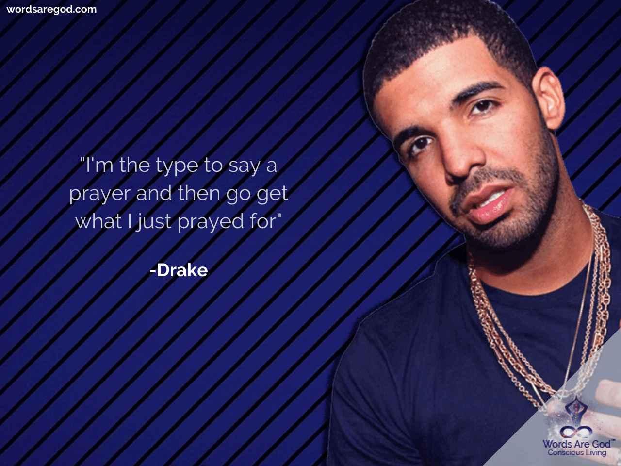 Drake Inspirational Quote