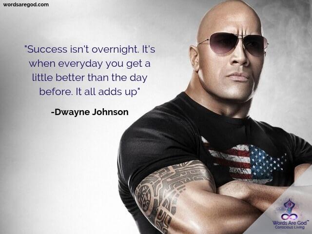 Dwayne Johnson Motivational Quotes by Dwayne Johnson