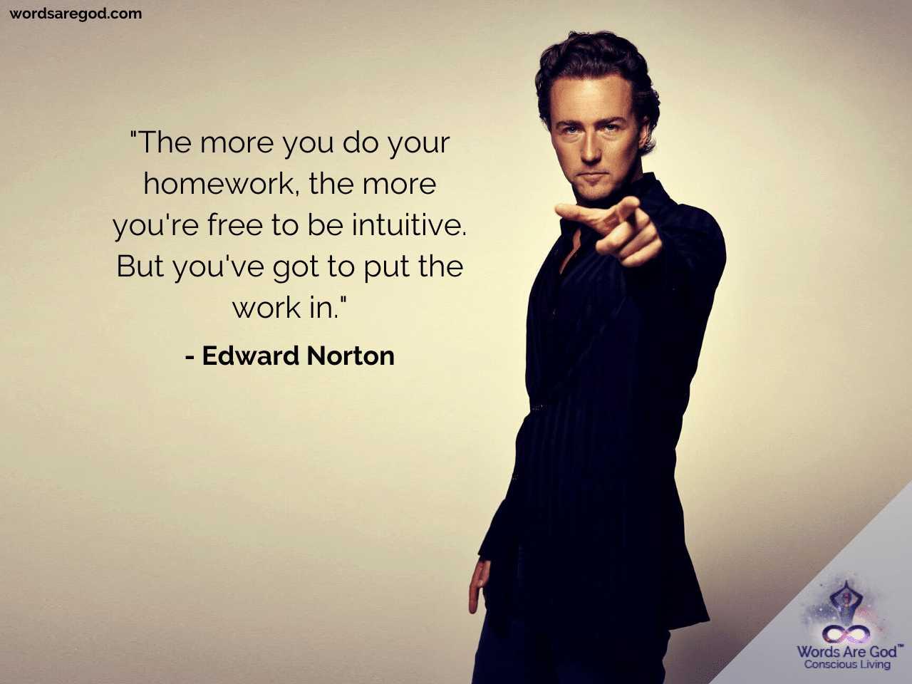 Edward Norton Best Quotes by Edward Norton