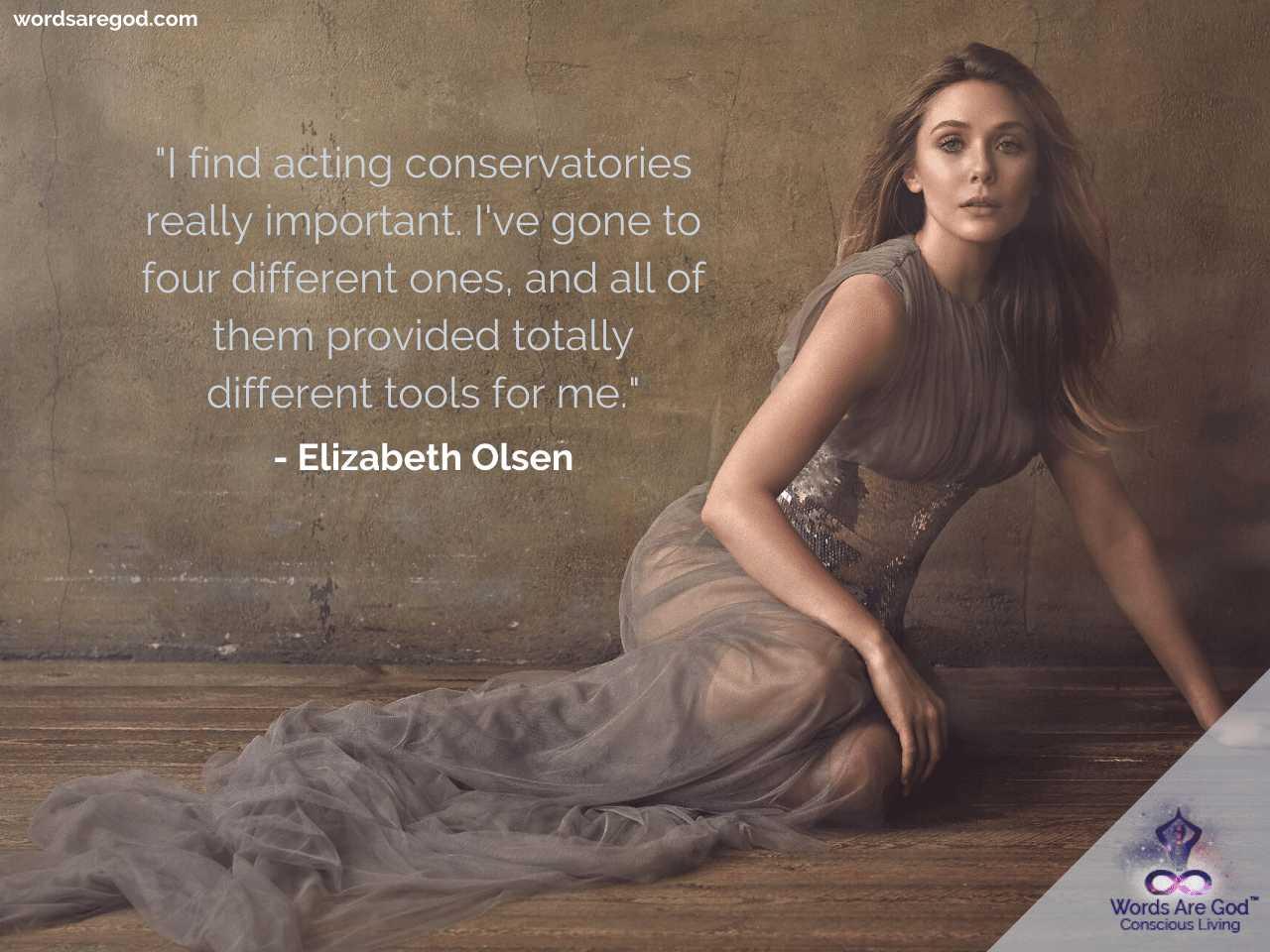 Elizabeth Olsen Life Quotes by Elizabeth Olsen