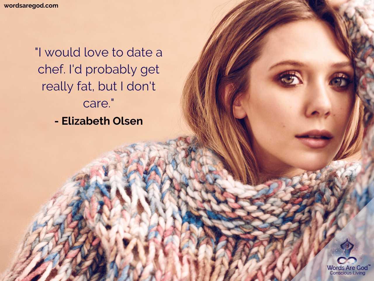 Elizabeth Olsen Motivational Quotes by Elizabeth Olsen