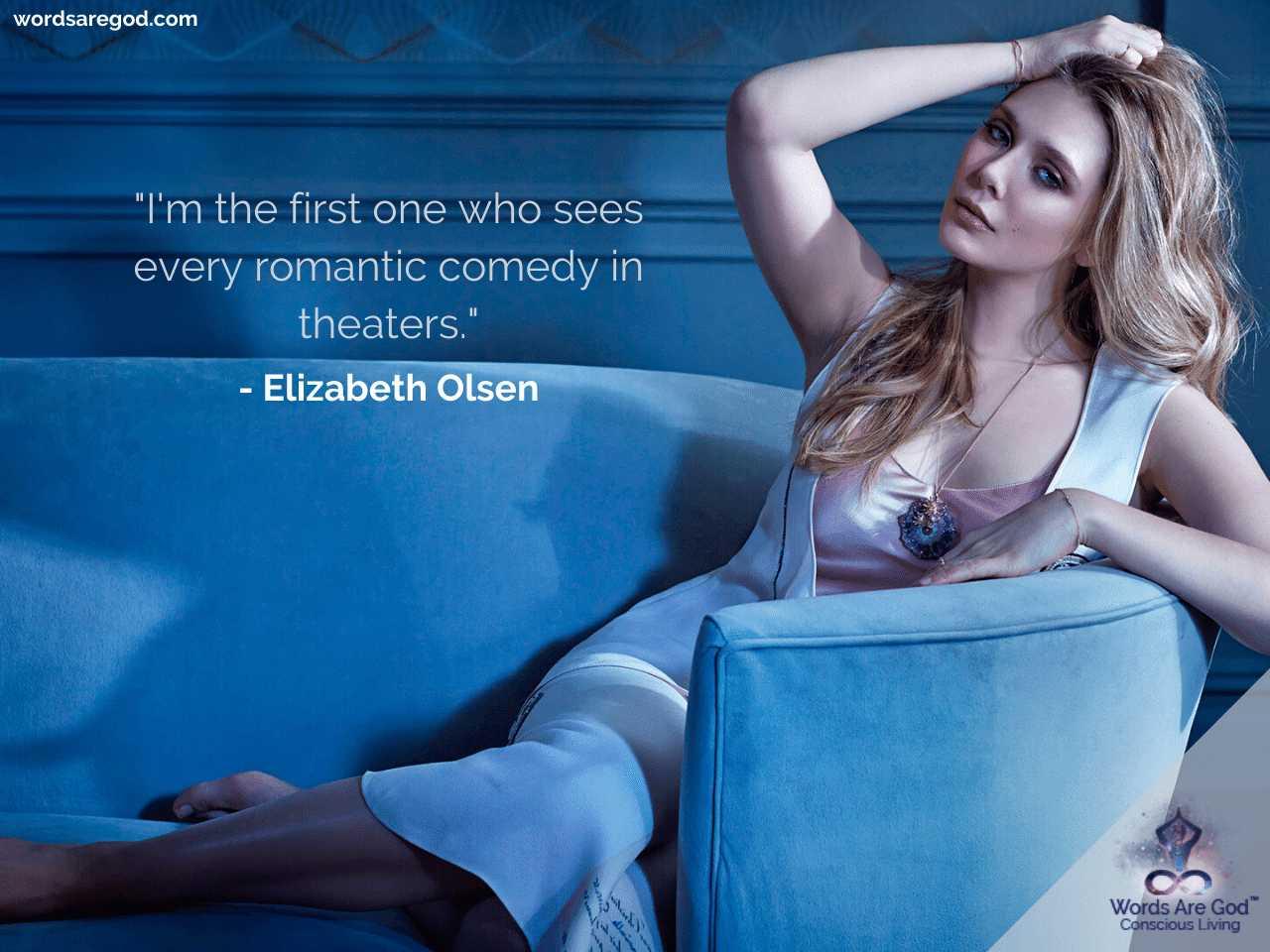 Elizabeth Olsen Motivational Quotes
