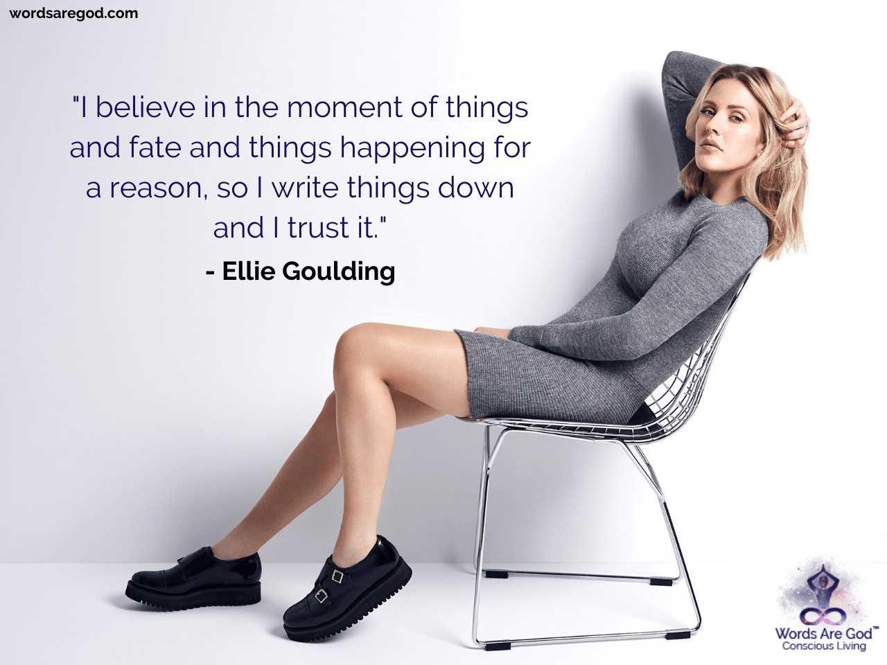 Ellie Goulding Best Quotes
