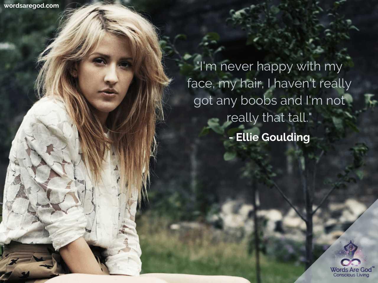 Ellie Goulding Motivational Quotes