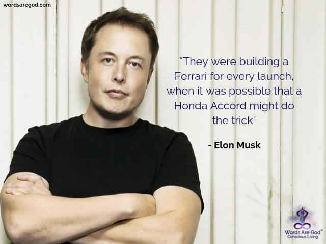 Elon Musk Inspirational Quote