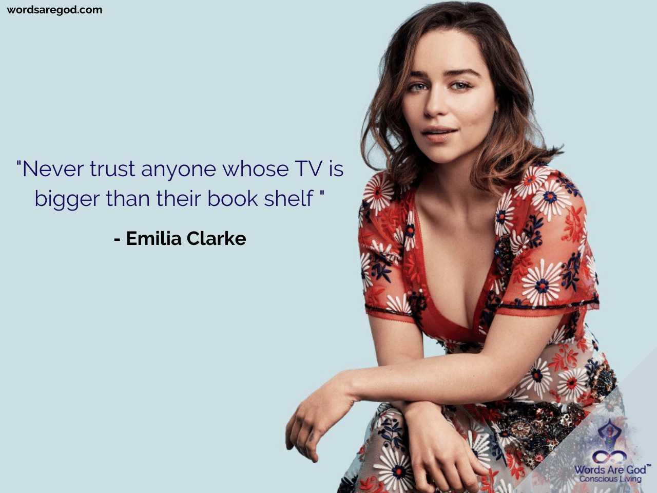 Emilia Clarke Best Quotes