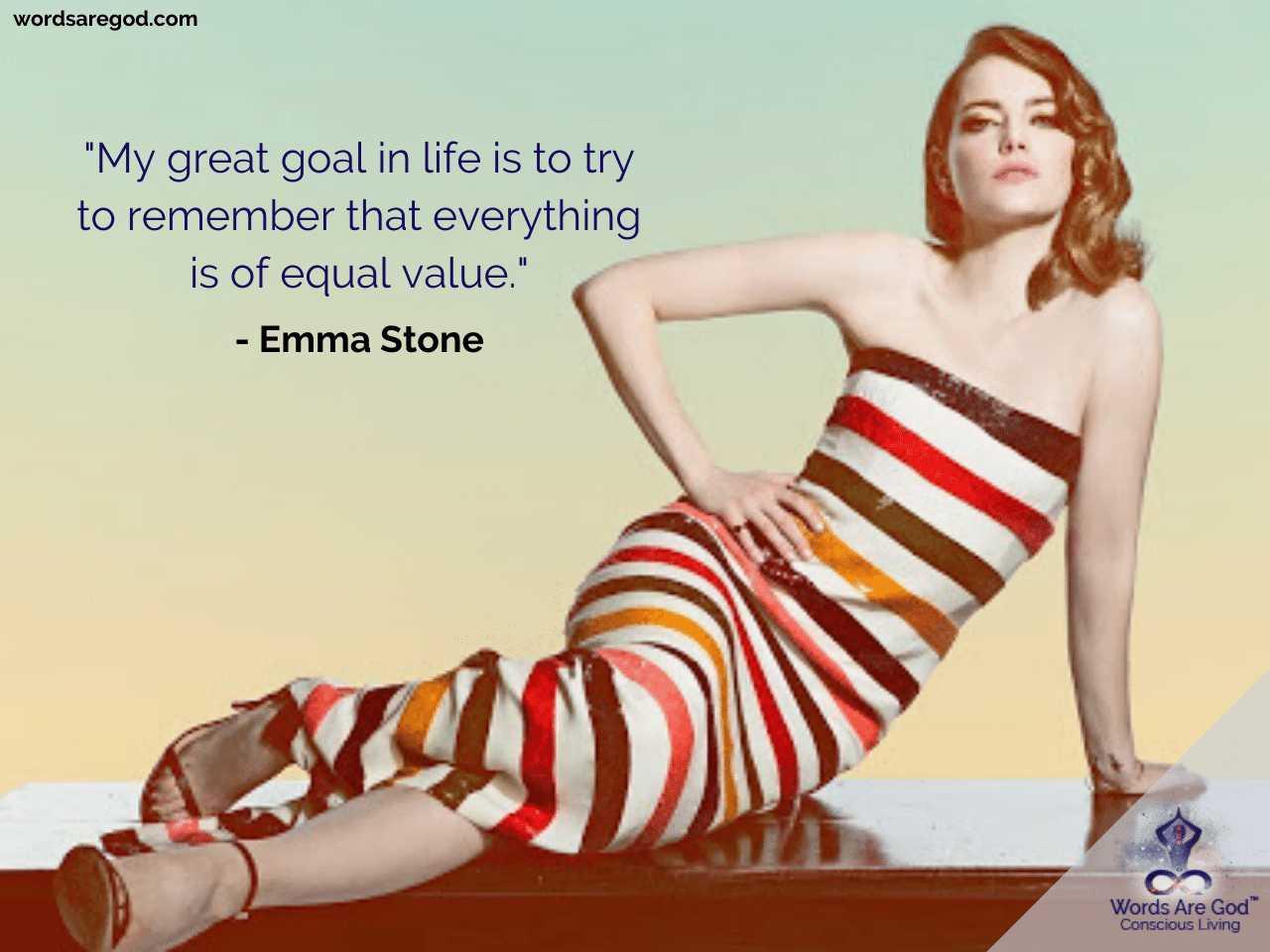 Emma Stone Inspirational Quotes by Emma Stone