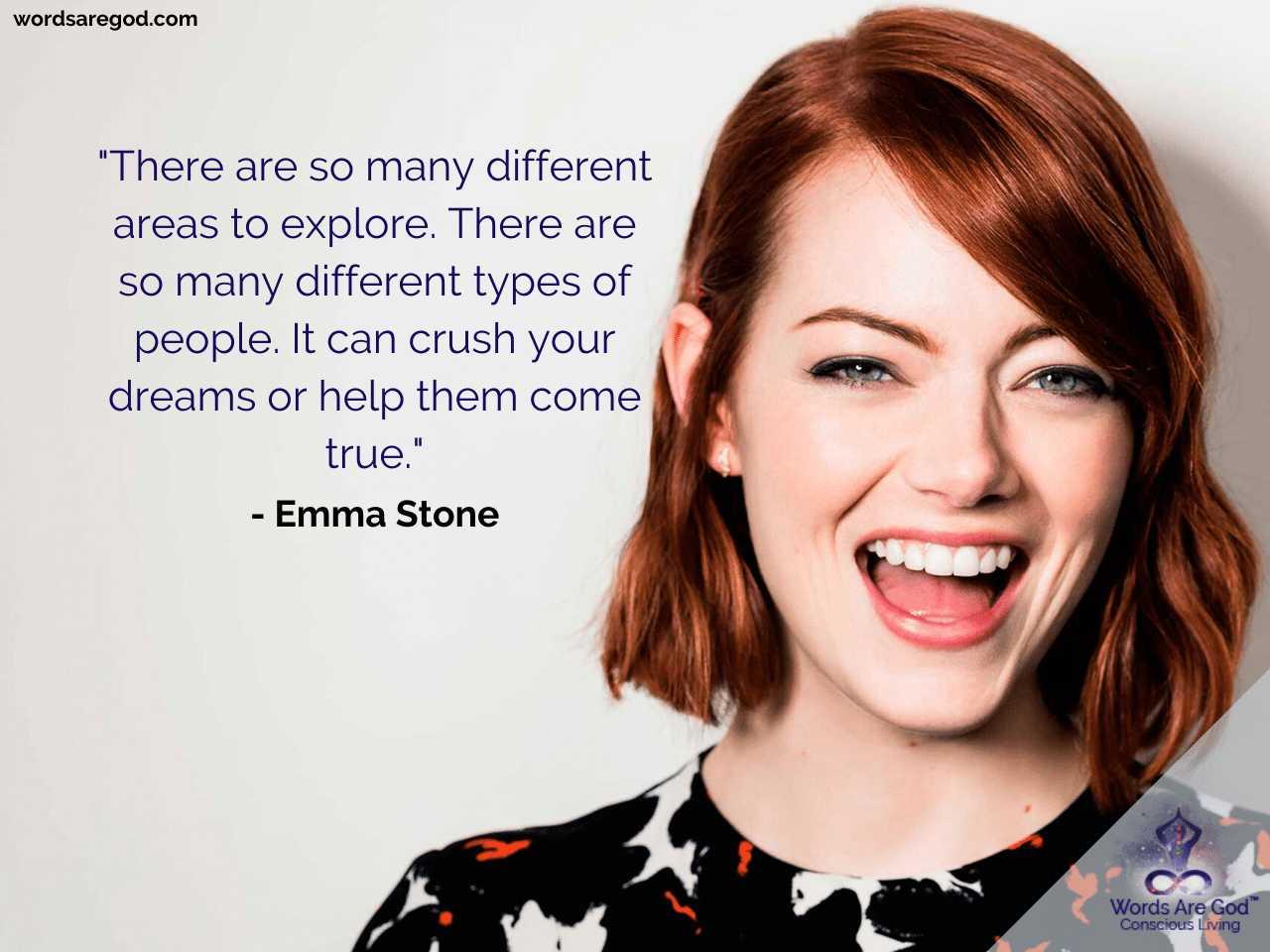 Emma Stone Life Quotes