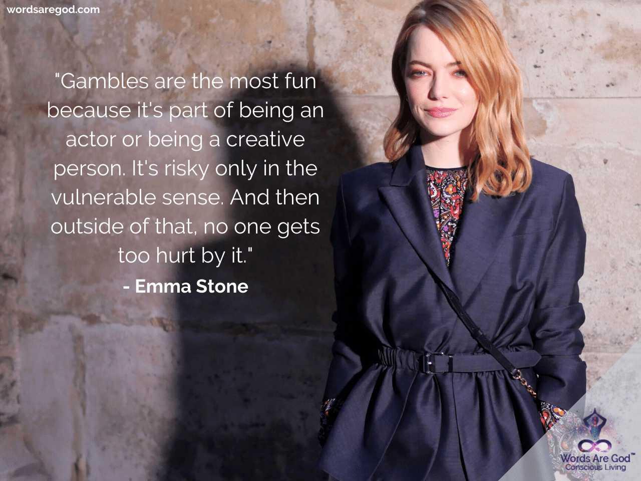 Emma Stone Motivational Quotes