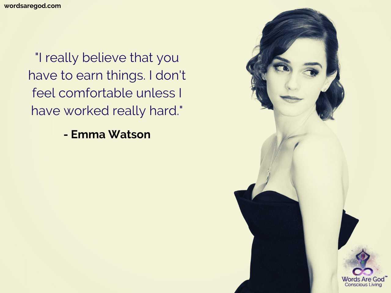 Emma Watson Inspirational Quotes