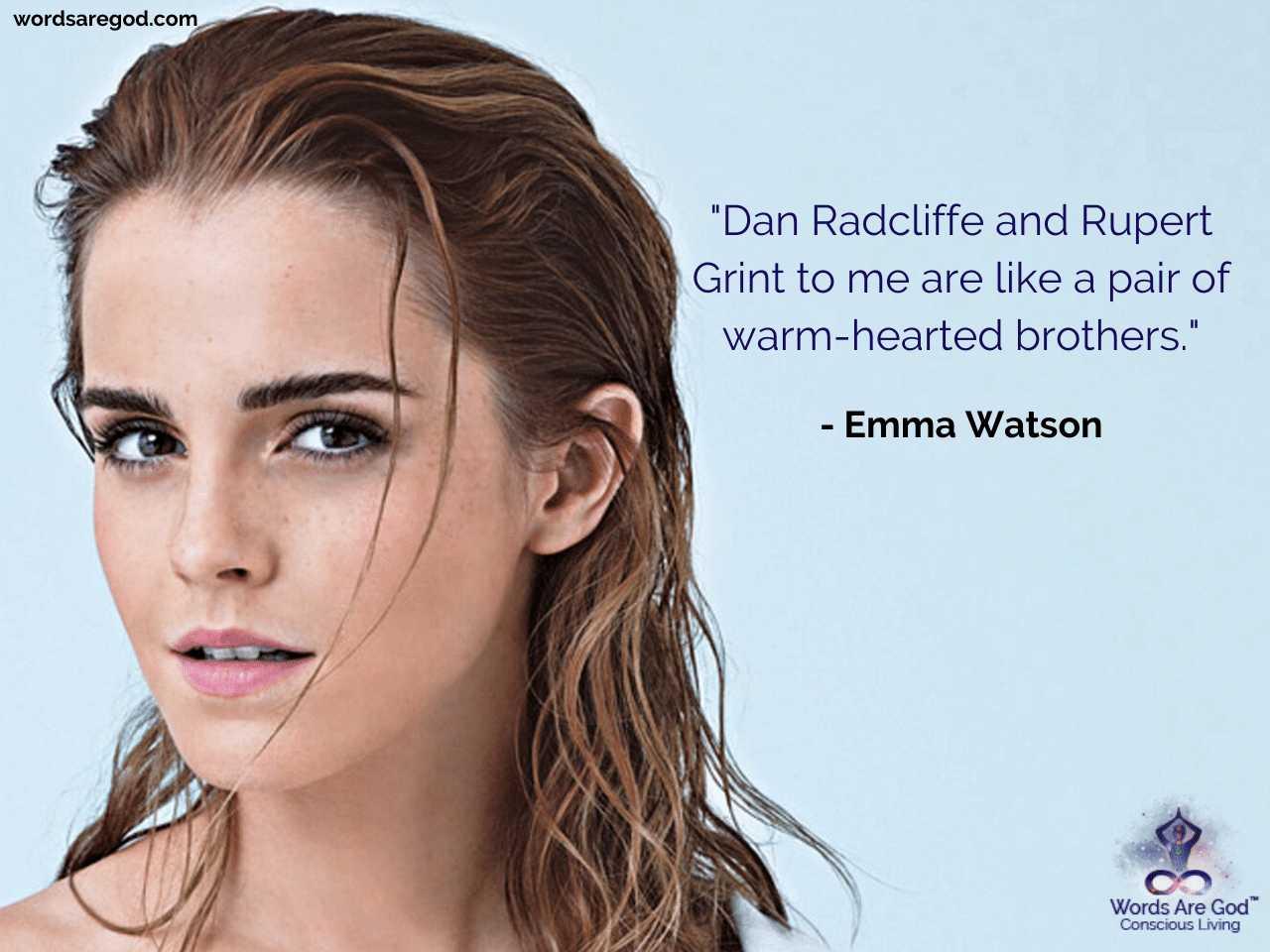Emma Watson Life Quotes by Emma Watson