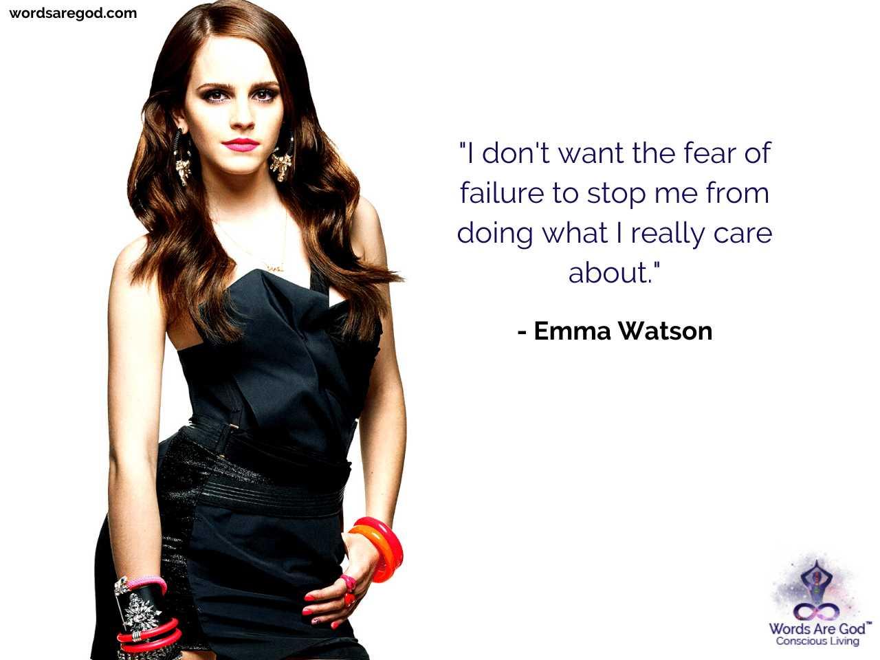 Emma Watson Motivational Quotes