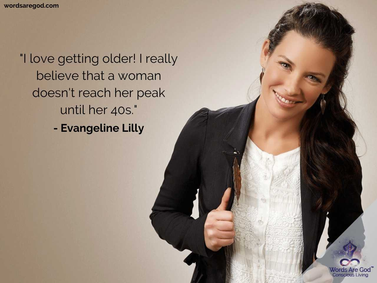 Evangeline Lilly Life Quotes