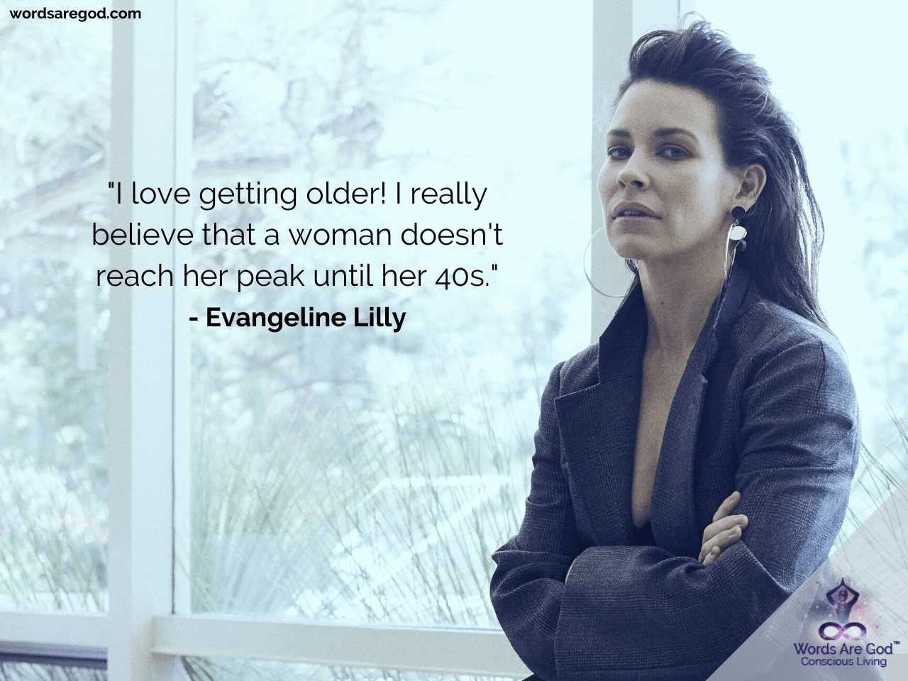 Evangeline Lilly Motivational Quotes