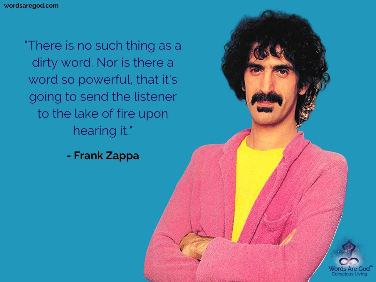 Frank Zappa Best Quote